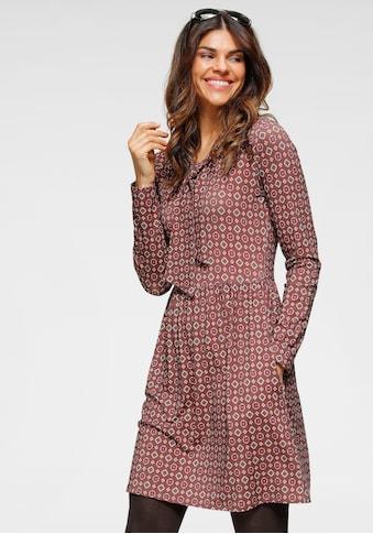 Boysen's Jerseykleid, Mit Schluppenkragen und Taschen kaufen