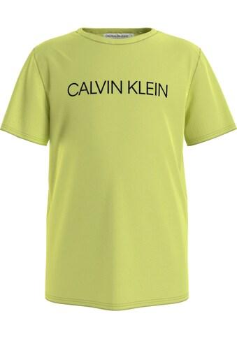 Calvin Klein Jeans T-Shirt »INSTITUTIONAL SS T-SHIRT« kaufen