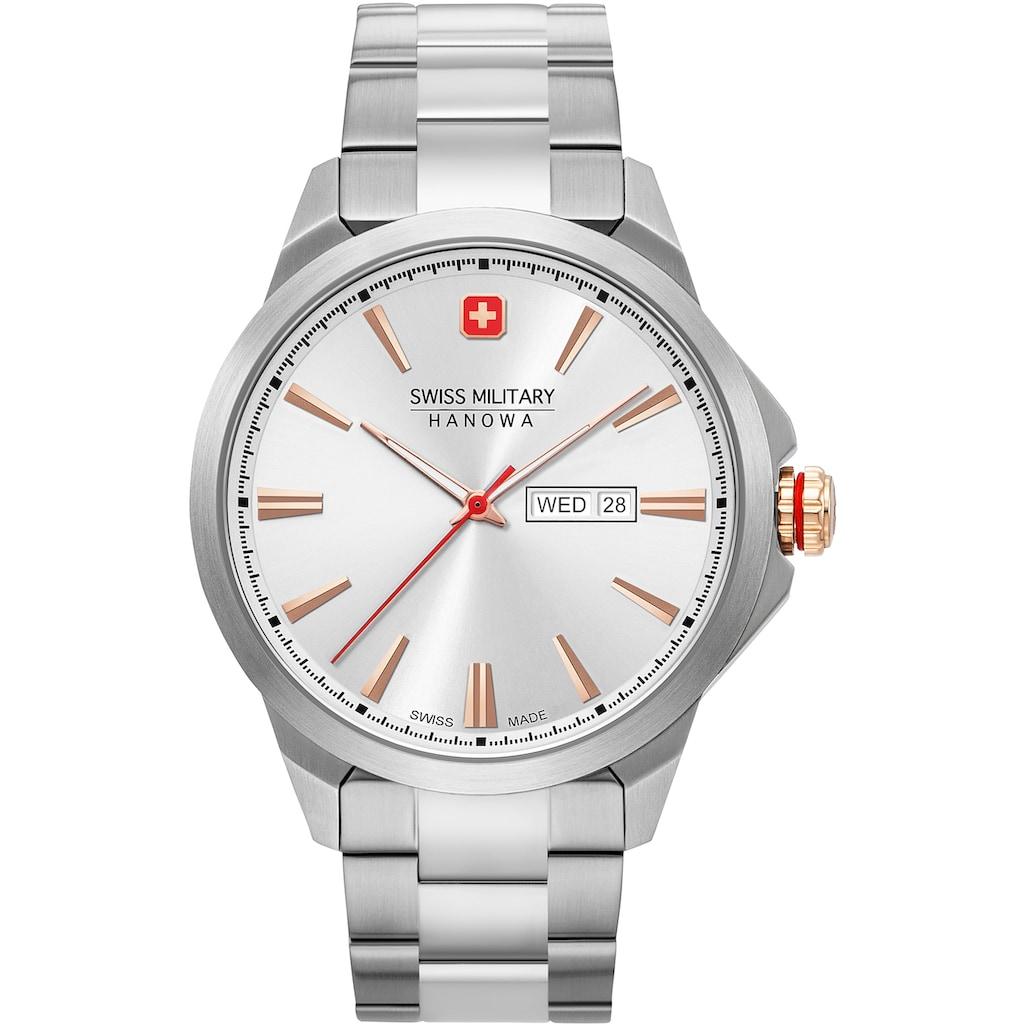 Swiss Military Hanowa Schweizer Uhr »DAY DATE CLASSIC, 06-5346.04.001«