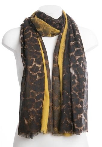 CASSANDRA Schal »Leo«, mit tollem Animalprint kaufen