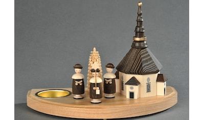 Albin Preissler Teelichthalter »Seiffener Kirche mit Kurrende« kaufen