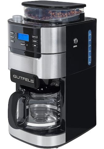 Gutfels Kaffeemaschine mit Mahlwerk »KA 8102 swi«, Papierfilter, 1x4 kaufen