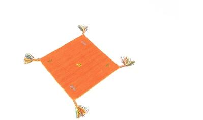 morgenland Wollteppich »Gabbeh Teppich Agra«, quadratisch, 14 mm Höhe, Kurzflor kaufen