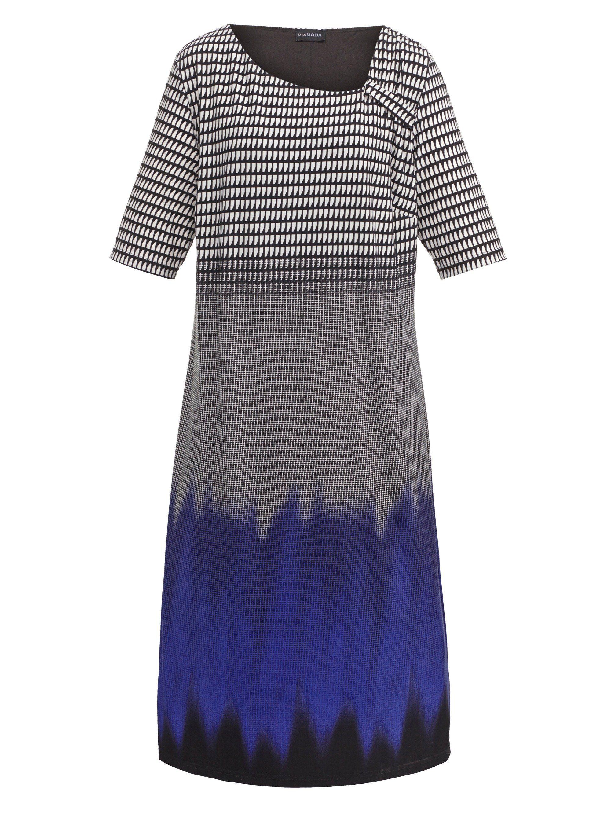 MIAMODA Kleid mit modischer Raffung