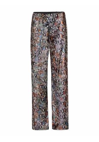 Herrlicher Stoffhose mit modernem Muster »Marlisa« kaufen