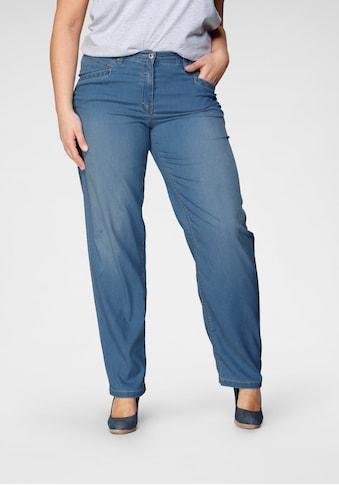 KjBRAND Straight-Jeans »Babsie: bequemer Oberschenkel«, mit Tencel™ kaufen