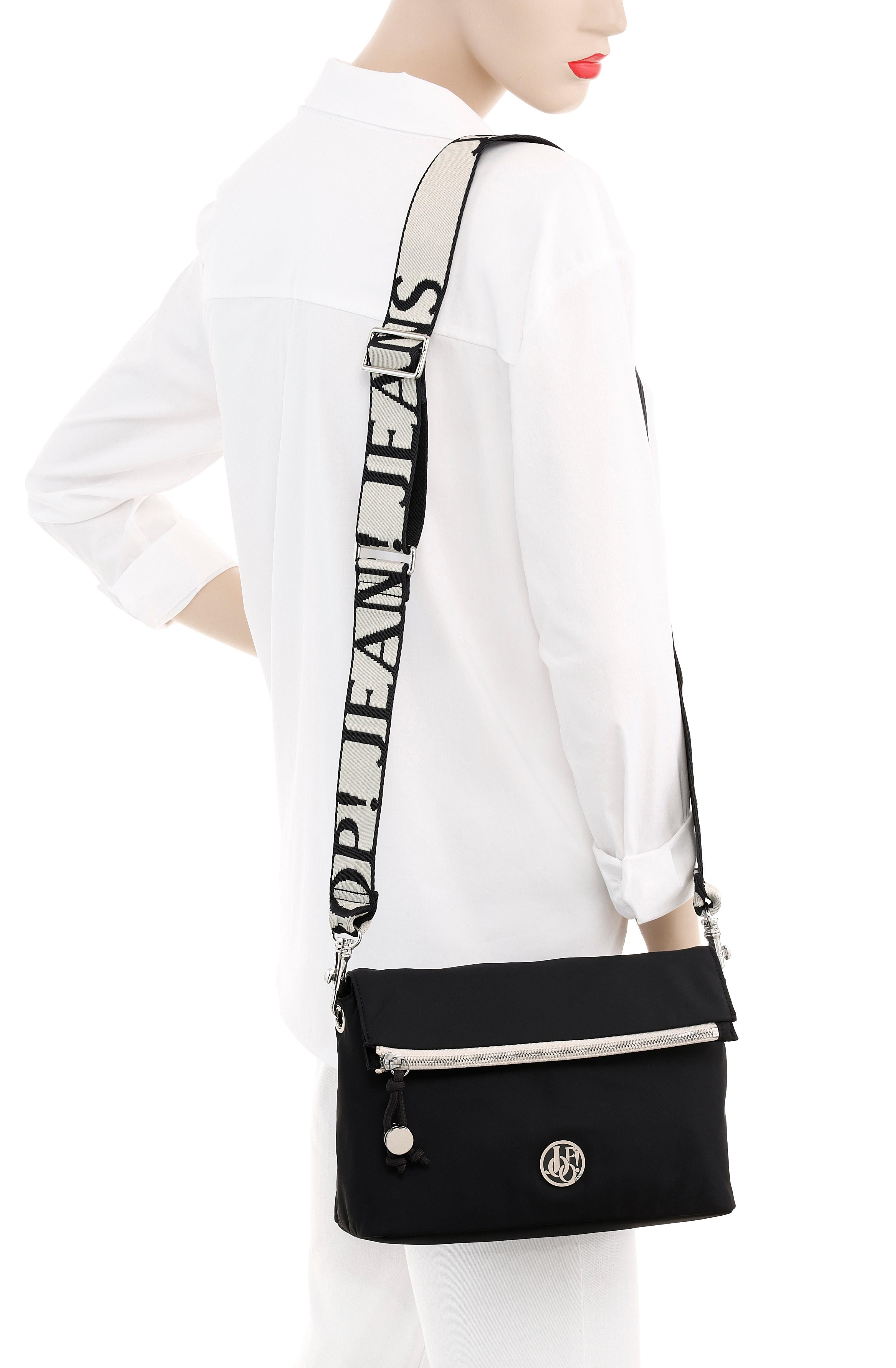 joop jeans -  Umhängetasche lietissimo lani shoulderbag shz, mit modischem Logo Schriftzug auf dem Umhängeriemen