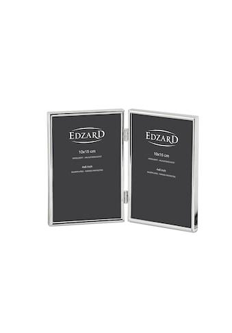 EDZARD Bilderrahmen »Genua«, für 2 Fotos, versilbert und anlaufgeschützt, für 10x15 cm... kaufen
