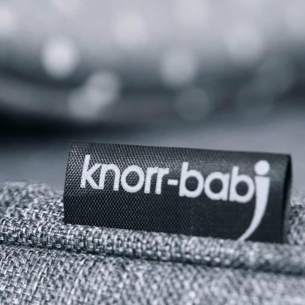 Knorrbaby Kombi-Kinderwagen »Kreta, hellgrau mit Punkten«, Made in Europe; Kinderwagen