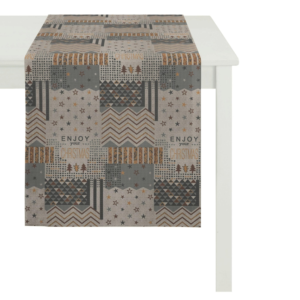 APELT Tischläufer »5200 CHRISTMAS ELEGANCE«, (1 St.)