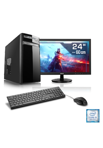 "CSL Gaming PC Set | Core i5 - 9400F | GTX 1660 | 16 GB DDR4 | 24"" TFT »Speed T5588 Windows 10 Home« kaufen"