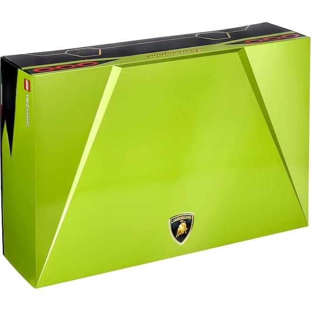 "LEGO® Konstruktionsspielsteine ""Lamborghini Sián FKP 37 (42115), LEGO® Technic"", Kunststoff, (3696-tlg.)"