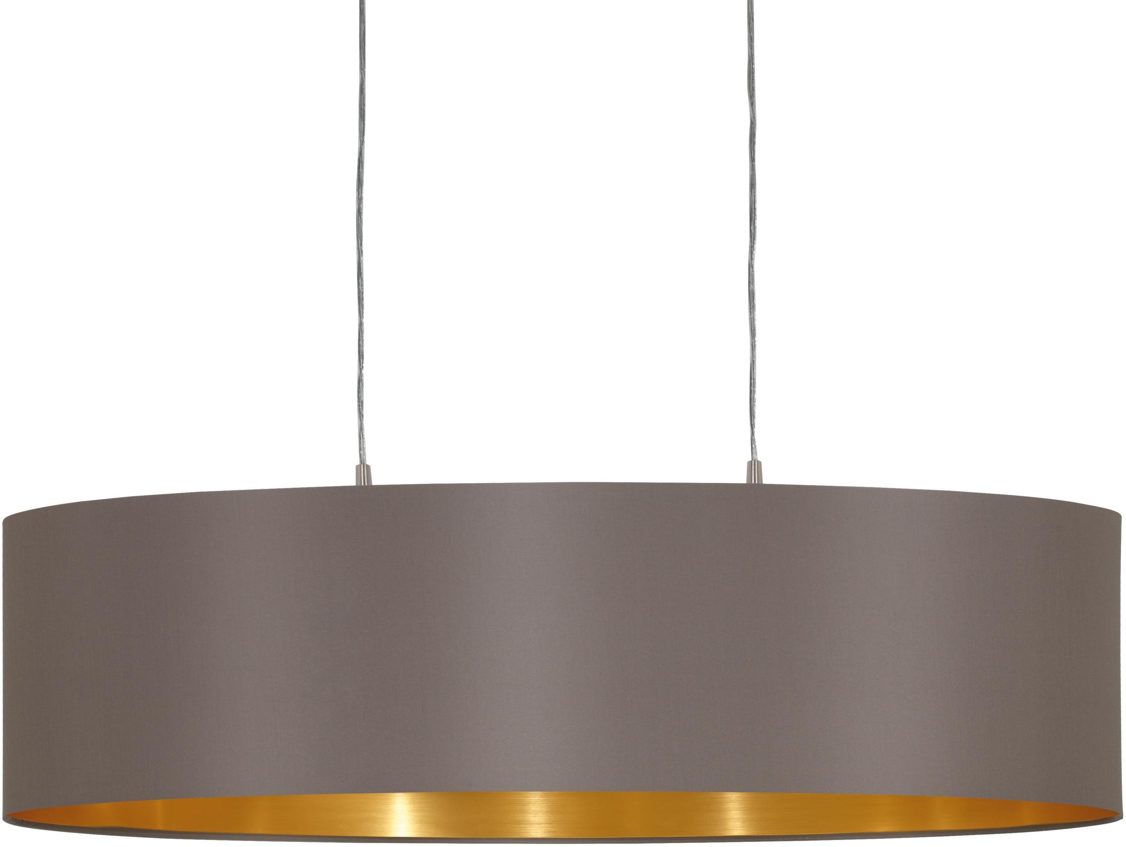 EGLO Pendelleuchte MASERLO, E27, Hängeleuchte, Hängelampe