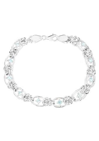 Firetti Silberarmband »Königskettengliederung, 7,6 mm breit, ovale Elemente,... kaufen