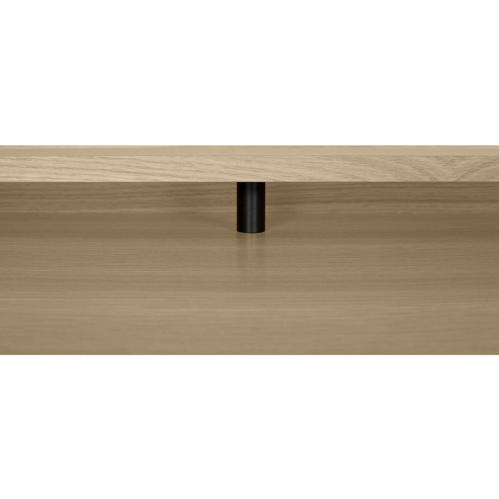 TemaHome Schreibtisch »Ply«, mit schönen Metallbeinen und ausreichenden Arbeitsplatz, sowie Abstellmöglichkeiten im hinteren Bereich