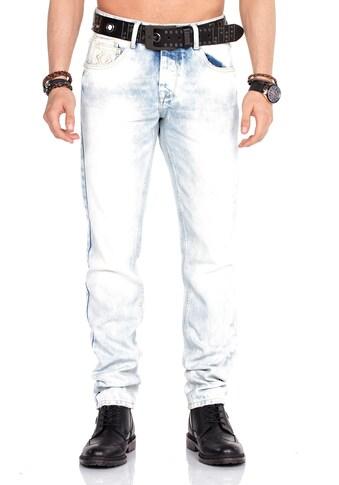 Cipo & Baxx Bequeme Jeans, in coolem Design kaufen