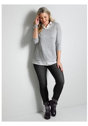 MIAMODA 2-in-1-Pullover, in 2-in-1-Optik kaufen