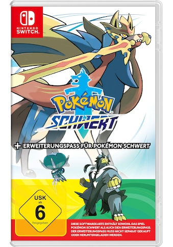 Pokémon Schwert + Erweiterungspass Nintendo Switch kaufen