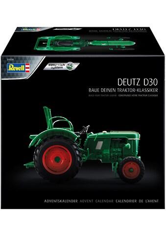 Revell® Adventskalender »Traktor-Klassiker - Traktor-Modell Deutz D30«, ab 10 Jahren,... kaufen