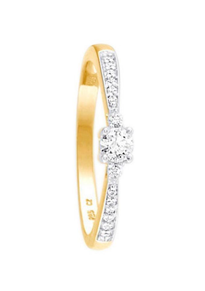 Firetti Verlobungsring | Schmuck > Ringe > Verlobungsringe | Goldfarben | Firetti