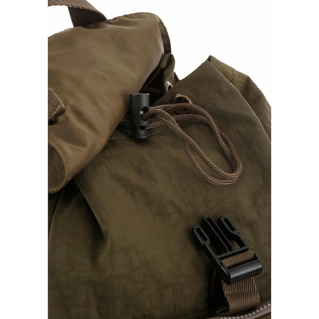 camel active Cityrucksack, mit gepolstertem Rücken und vielen Täschchen