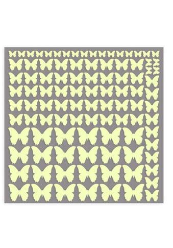 Wall - Art Wandtattoo »Leuchtsticker Schmetterlinge« (1 Stück) kaufen