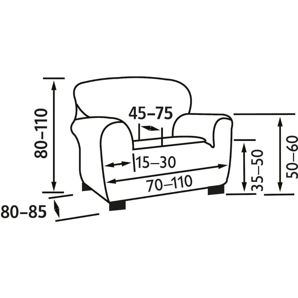 sofaskins Sesselhusse »Martin«, Super-Stretch für optimale Passform