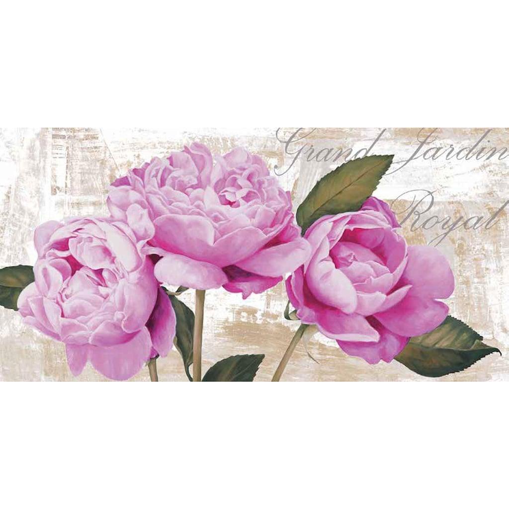 Home affaire Deco-Panel »Jenny Thomlinson /Grand Jardin Royal«, 100/50/2 cm