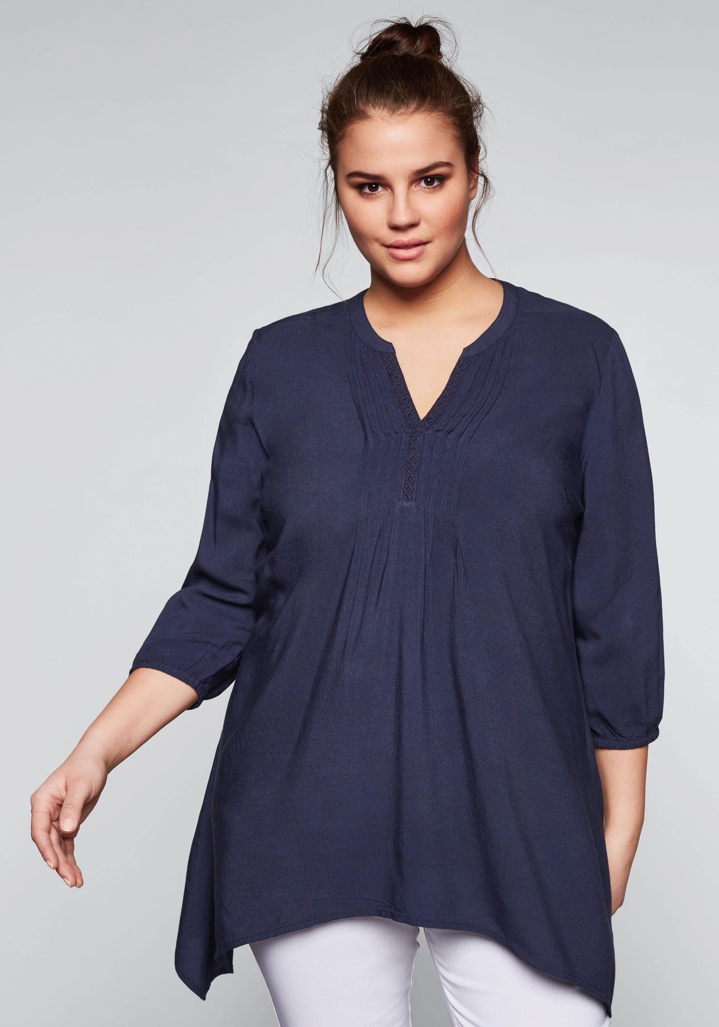 Sheego Tunika   Bekleidung > Tuniken   Blau   Sheego Style