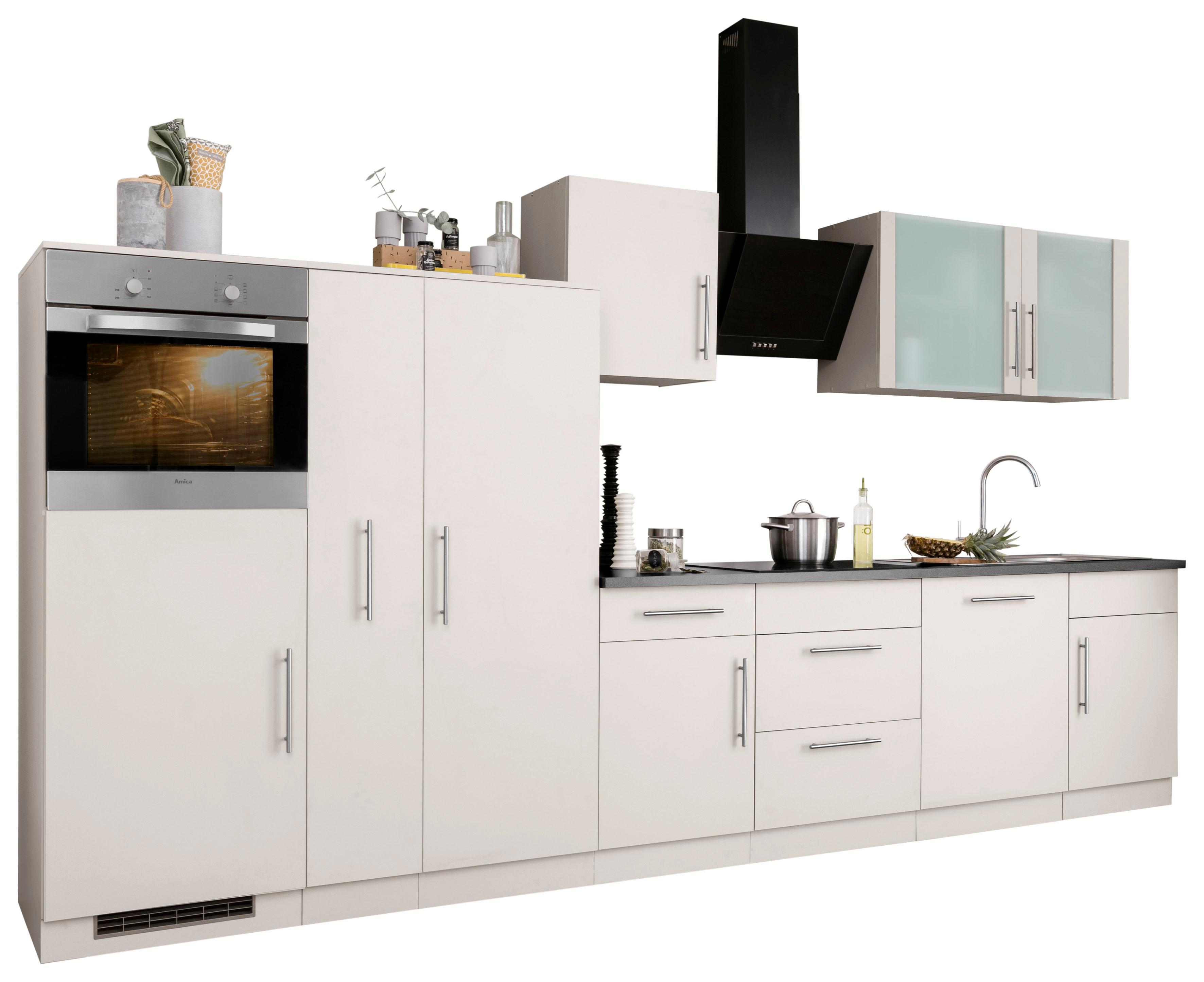 WIHO-Küchen Küchenzeile Cali mit E-Geräten Breite 360 cm Preisvergleich