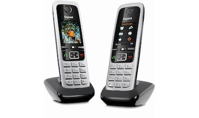Gigaset Schnurloses DECT Mobilteil »C430HX Duo (inkl. Ladeschale)« kaufen