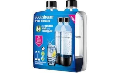 SodaStream Wasserkaraffe »DuoPack 2x 1L Tritan-Flasche«, Ersatzflaschen für SodaStream Wassersprudler mit PET-Flaschen kaufen
