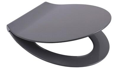 SANILO WC - Sitz »Flat Grau«, mit Absenkautomatik kaufen