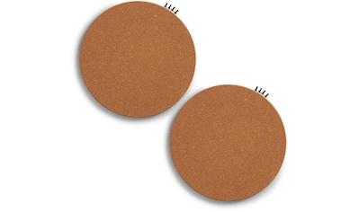 Zeller Present Pinnwand »Pinboard, rund, Kork, 2-tlg.« kaufen