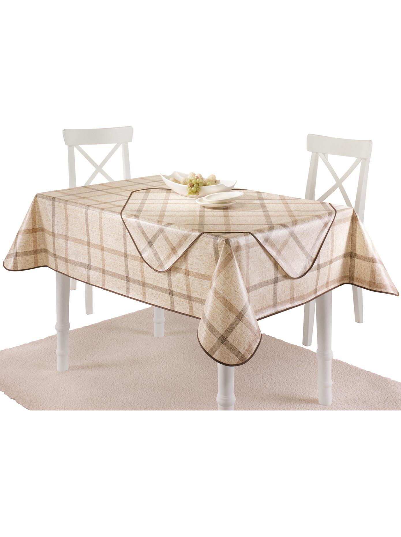 Tischdecke beige Tischdecken Tischwäsche