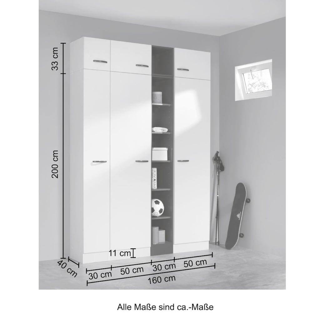 HELD MÖBEL Schrank-Set »Norderney«, Breite 160 cm