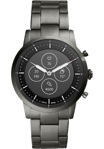 Fossil Smartwatches Smartwatch »COLLIDER HYBRID SMARTWATCH HR, FTW7009«, ( Proprietär ) kaufen