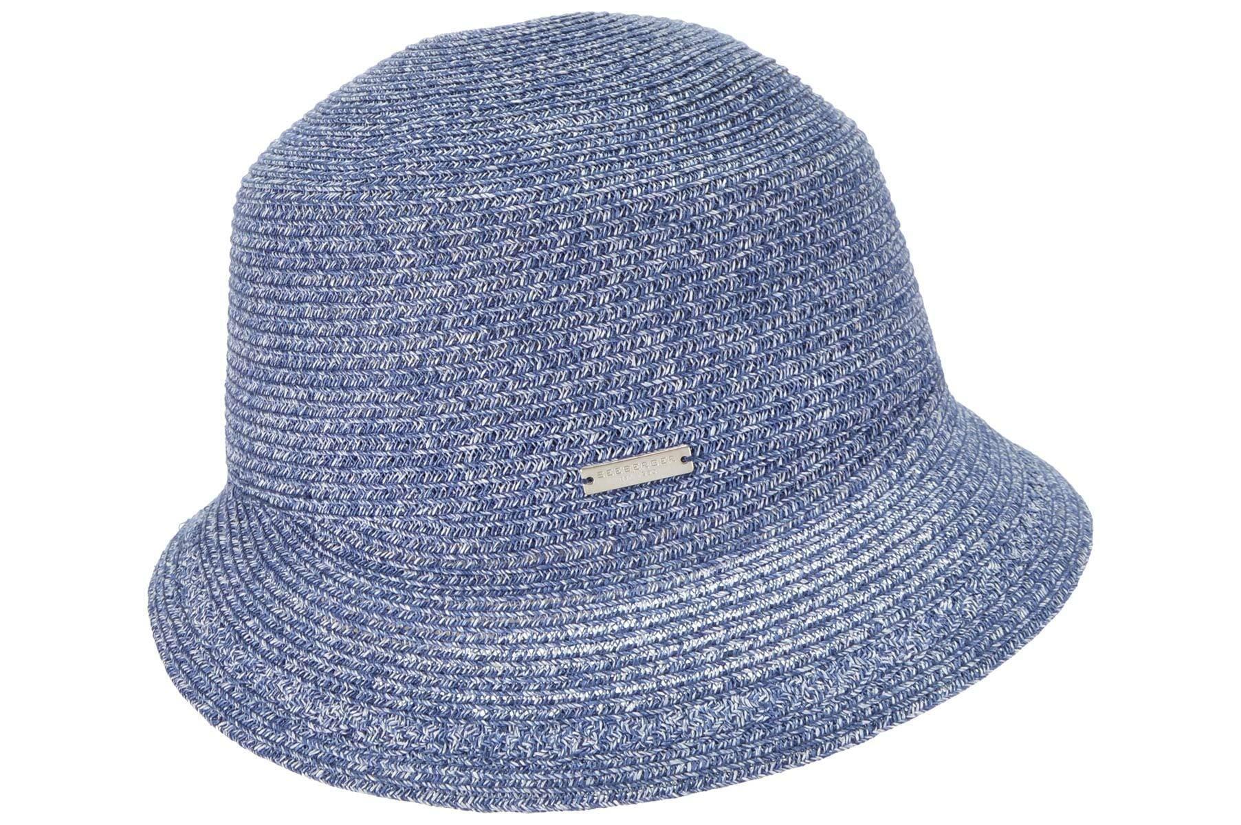 Seeberger Strohhut Glocke aus leichtem Papierstroh 54487-0 | Accessoires > Hüte > Strohhüte | Seeberger