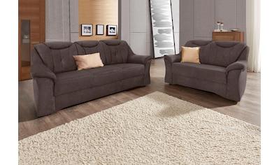 sit&more Polstergarnitur, (2 tlg.), bestehend aus 3- und 2-Sitzer, mit komfortablem... kaufen