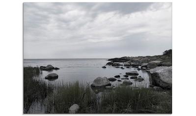 Artland Glasbild »Einsame Bucht am Meer«, Gewässer, (1 St.) kaufen