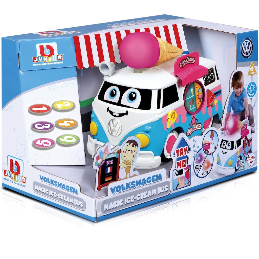 bbJunior Spielzeug-Bus »VW Magic Ice Cream Bus«, mit Licht- und Soundeffekten