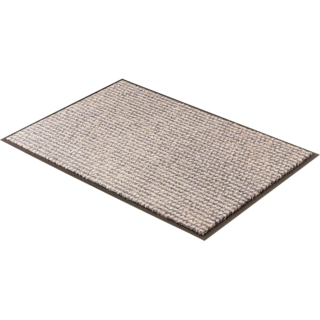 SCHÖNER WOHNEN-Kollektion Fußmatte »Miami 002«, rechteckig, 7 mm Höhe, Schmutzfangmatte, waschbar