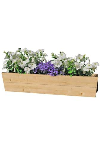 Outdoor Life Products Blumenkasten, 90 cm, Fichtenholz kaufen