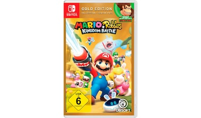 Mario & Rabbids Kingdom Battle Gold Edition Nintendo Switch kaufen