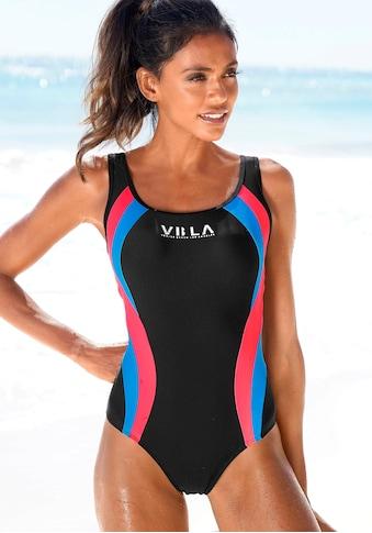 Venice Beach Badeanzug, Mit Logodruck und Colorblocking-Einsätzen kaufen