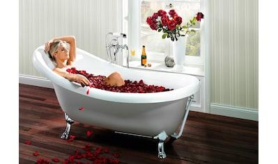OTTOFOND Badewanne »Victorian«, mit verchromte Ablaufgarnitur und Löwenfüße kaufen