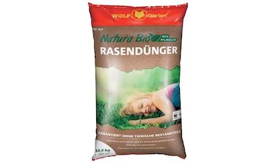 WOLF GARTEN Rasendünger »Natura Bio«, in 3 Verpackungsgrößen kaufen