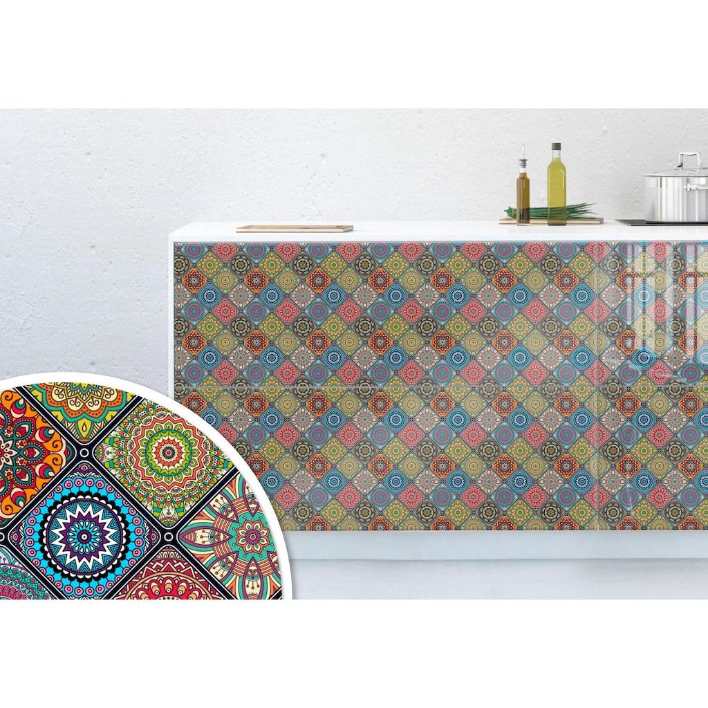 Wall-Art Möbelfolie »Orientalische Kacheln 03«, 100/100 cm