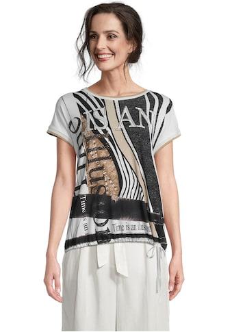 Betty Barclay Print-Shirt, mit Schriftzug kaufen