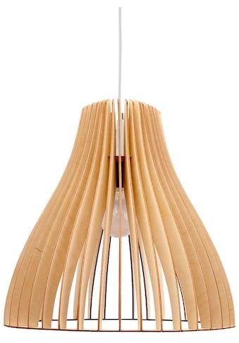 WODEWA Set: Pendelleuchte »Holzlampe Nubes«, LED, 1 - flammig, 37 x 36 cm kaufen